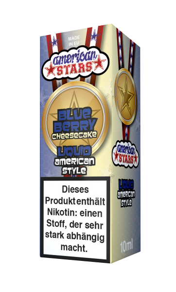 American Stars Blueberry Cheesecake Liquid 10ml