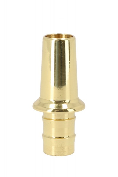 ATH T-Brass Schlauchanschluss Messing Poliert