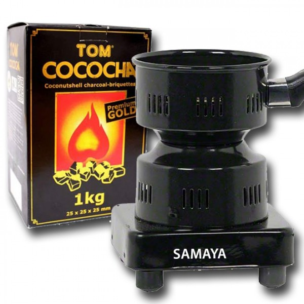 Vorteilspaket Samaya Kohleanzünder + Cococha Gold 1kg