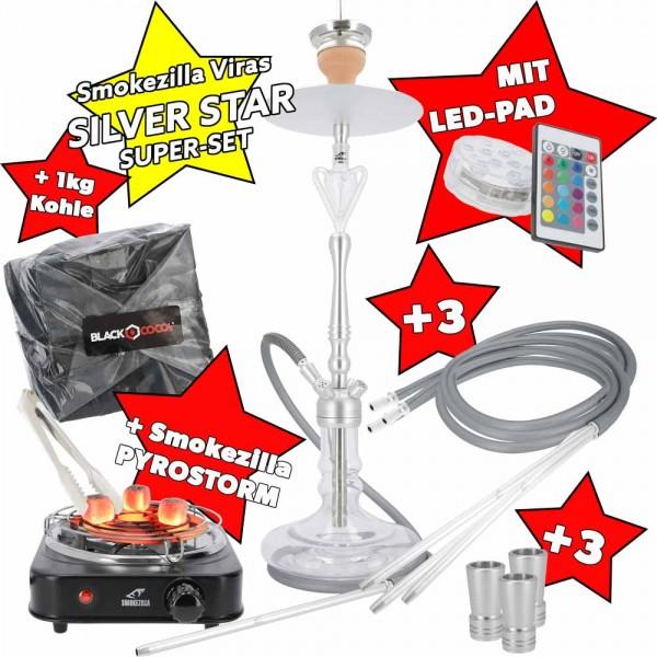 Smokezilla Viras Black Mamba SUPER SET LED