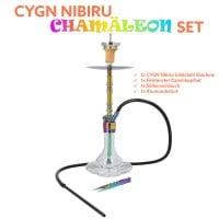 CYGN Nibiru Chamäleon Set Edelstahl Rainbow