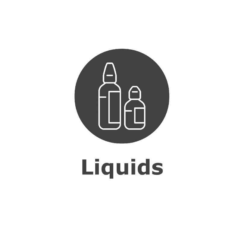 Liquids, Shortfills, Fertigliquids e-Zigaretten