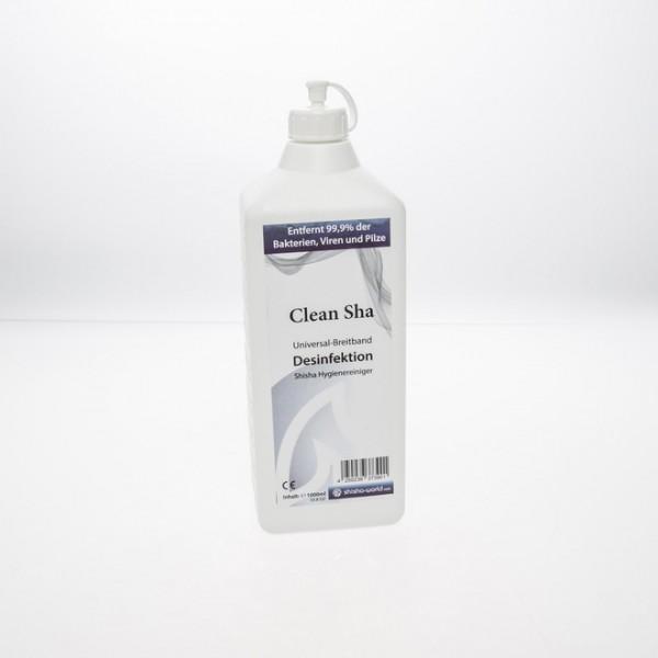 Reiniger Desinfektionsmittel Clean Sha Shishaworld 1000ml