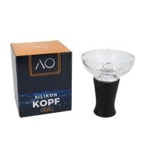 AO Glas-Silikonphunnel Schwarz