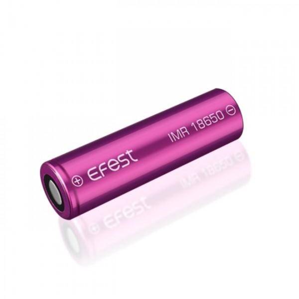 Efest Batterie Purple IMR 18650 3000mAh 3,6V - 3,7V Li-Ionen Flat Top 35A