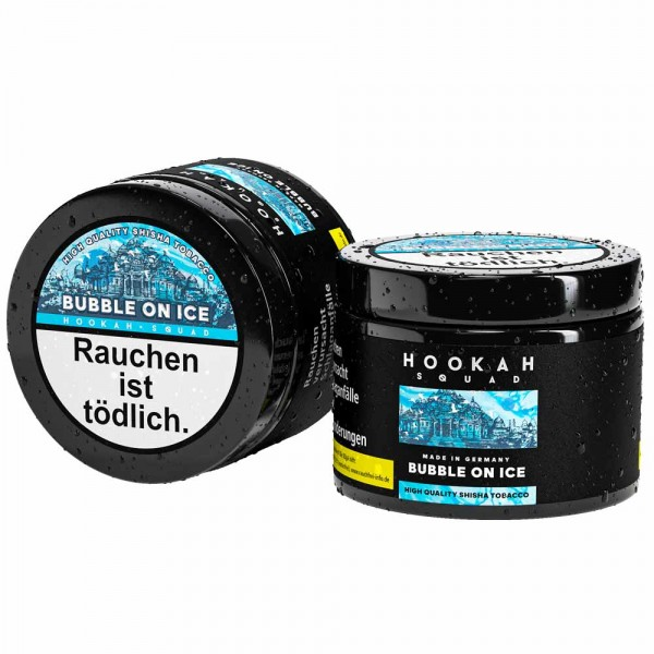 Hookah Squad Tabak Bubble on ICE 200g