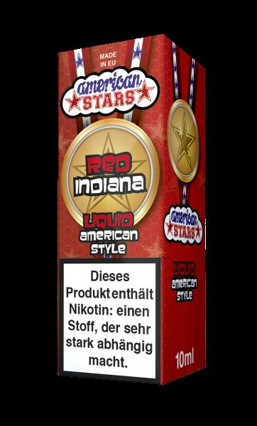 American Stars Red Indiana Liquid 10ml