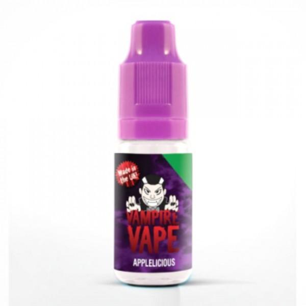 Vampire Vape Liquid 0mg - 10ml - Applelicious