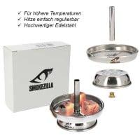 Smokezilla Kaminaufsatz Edelstahl