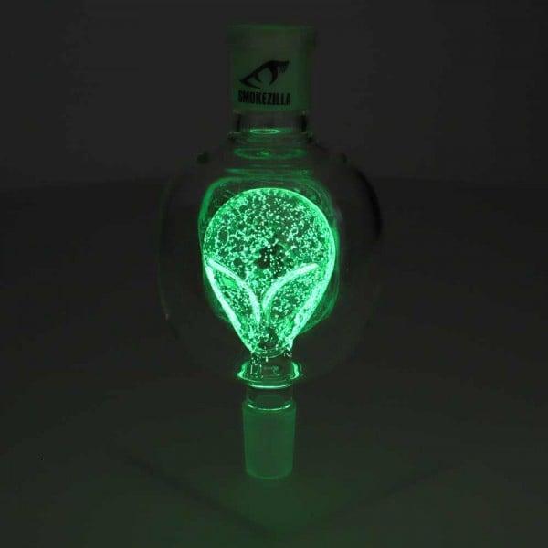 Smokezilla Molassefänger Glow Alien Grün 18/8