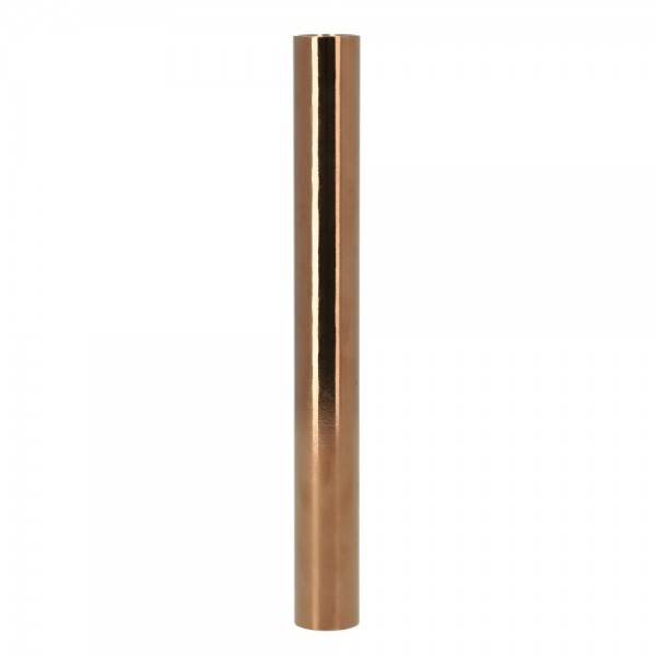 Smokezilla Wasserrohr Edelstahl Shiny Rose Gold 19cm