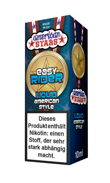 American Stars Easy Rider Liquid 10ml