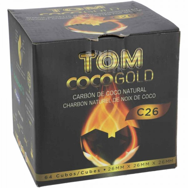 Tom Coco Kokoskohle C26 1kg
