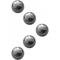 Ventilkugel Metall 5er Beutel - 6,4mm