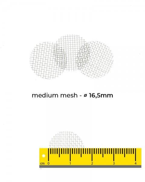 Aryva Medium Mesh Einlegesieb Ø=16.5mm - 100er-Pack