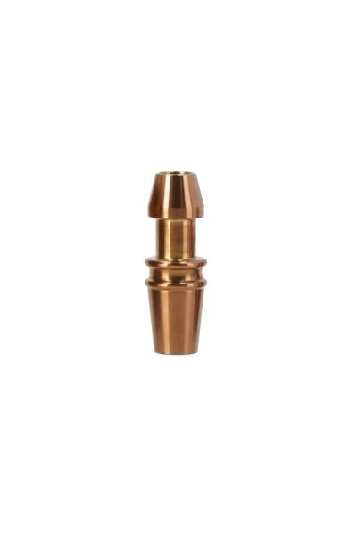 Alpenrauch Schlauchanschluss Edelstahl Bronze
