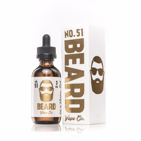 Beard Vape - No. 51 - 0mg Nikotin - 30ml