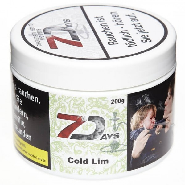 7Days Tobacco RF Cold Lim 200g