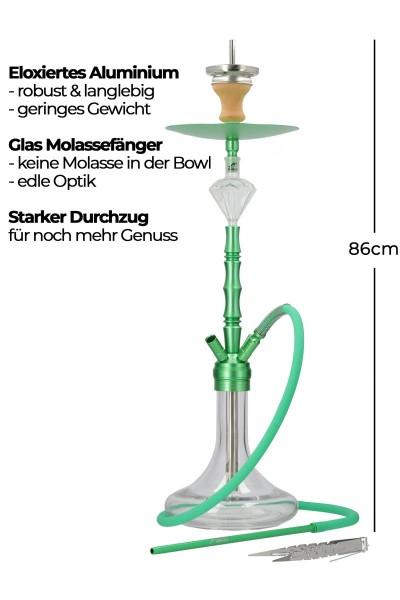 Smokezilla Minya Alu Grün