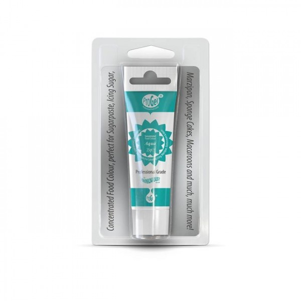 Lebensmittelfarbe Rainbow Dust Progel - Aqua