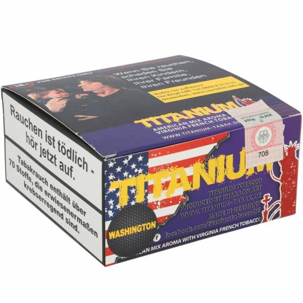 Titanium Tabak RF Washington 200g