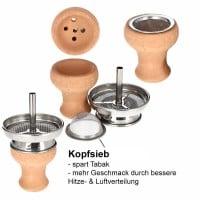 Smokezilla Kaminkopfset inkl Kopfsieb