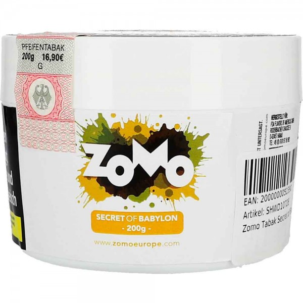 Zomo Tabak Secret of Babylon 200g