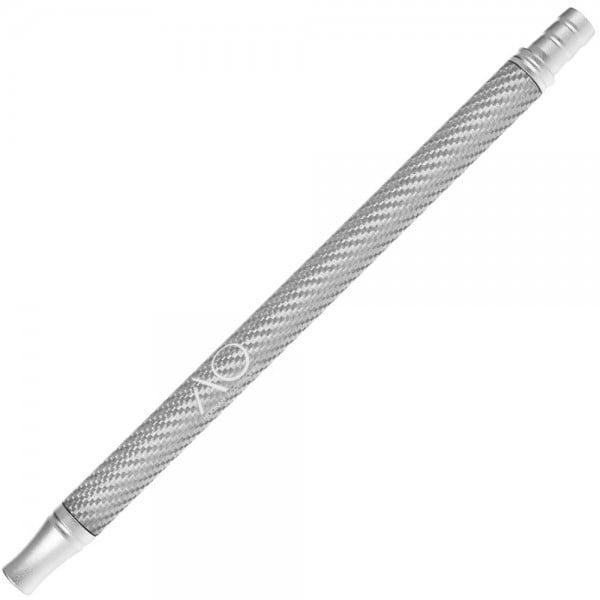 AO Alu-Carbonmundstück Silber