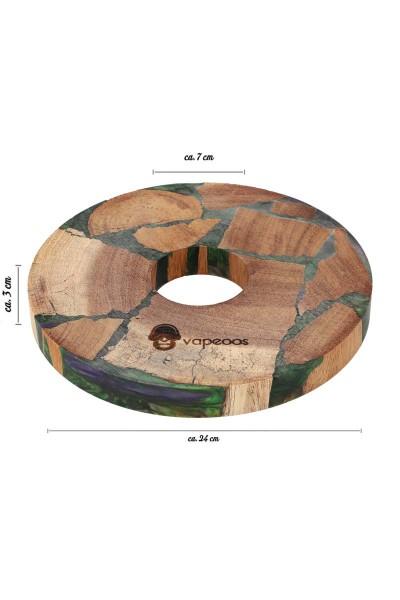 Cyborg Vapeos Timberix Wood Plate