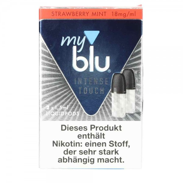 Myblu Strawberry Mint Intense POD (2er Pack) Nikotinsalz 1.5 ml