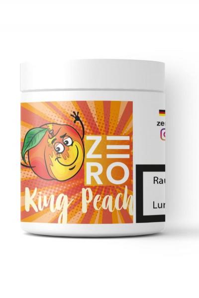 ZERO Tabakersatz King Peach 200g