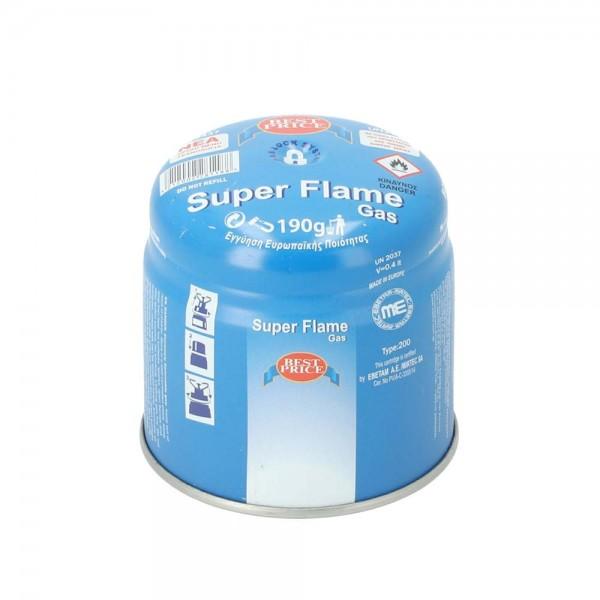 Super Flame Gaskartusche 190g