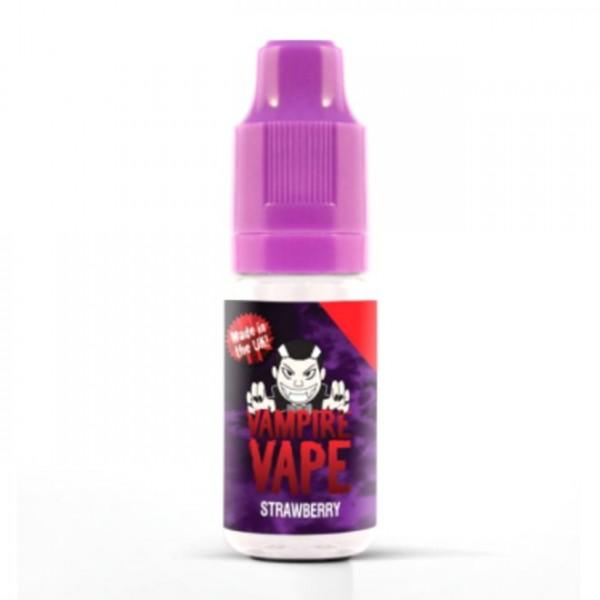 Vampire Vape Liquid 0mg - 10ml - Strawberry
