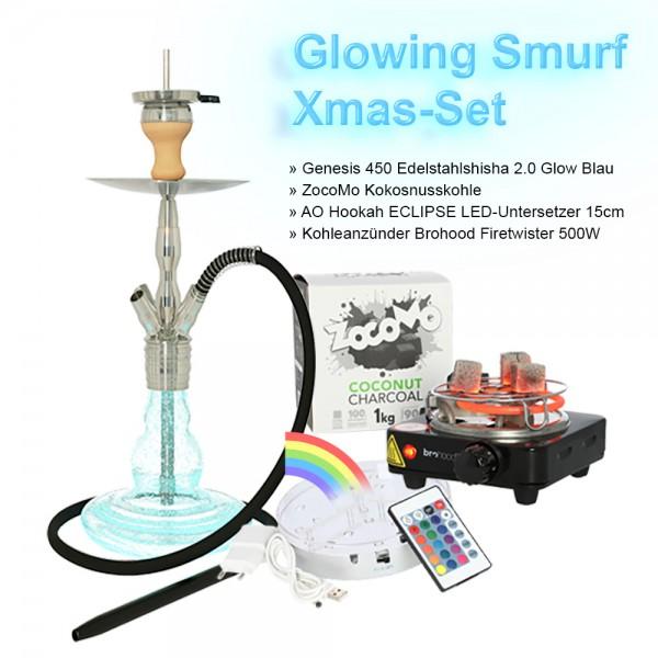 Genesis 450 Glowing Smurf Xmas-Set - TAG 3