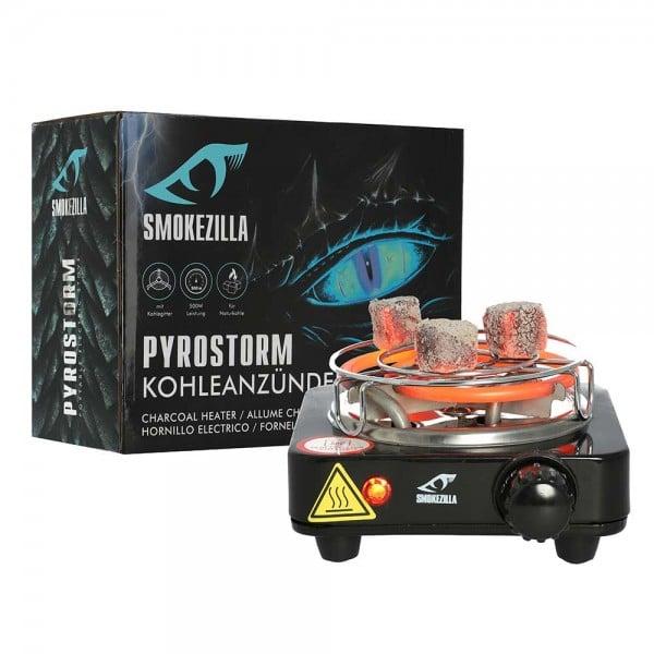 Kohleanzünder Smokezilla Pyrostorm 500W