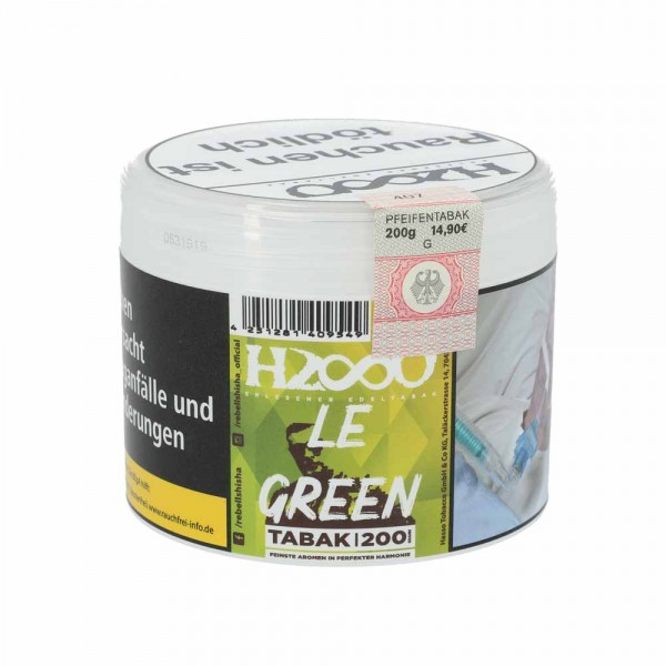 Hasso Tabak Le Green 200g
