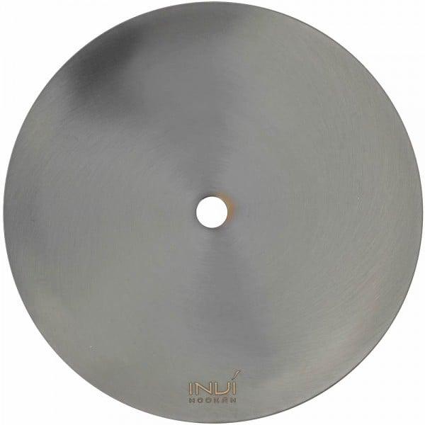 INVI Kohleteller Edelstahl Gun Metal 24cm