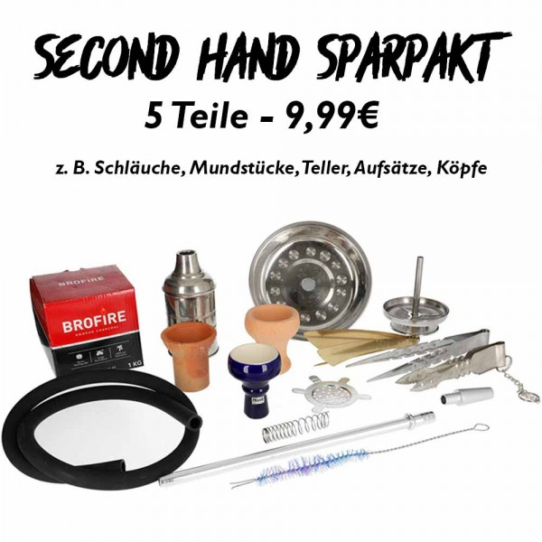 Sparpaket 2nd-Hand - 5er-Set