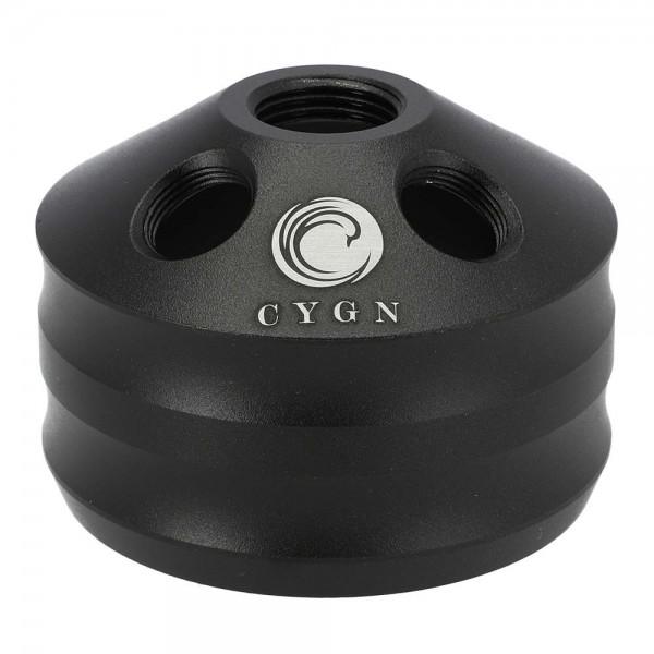 CYGN Nibiru Rauchbase Aluminium Schwarz
