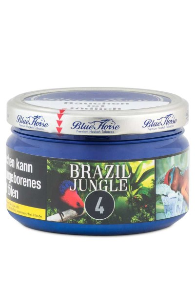 Blue Horse Tabak 2.0 BRAZIL JUNGLE 200g
