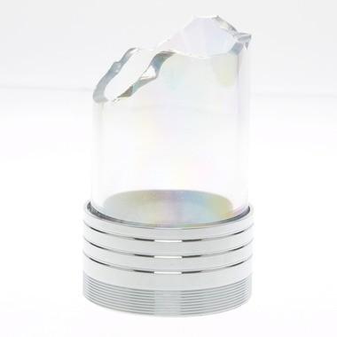 Nargilem NPS Gewinde zum Selbstablösen Chrom Silber