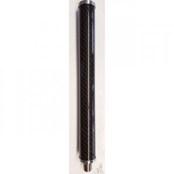Rauchrohr THS Carbon Mini 18/8