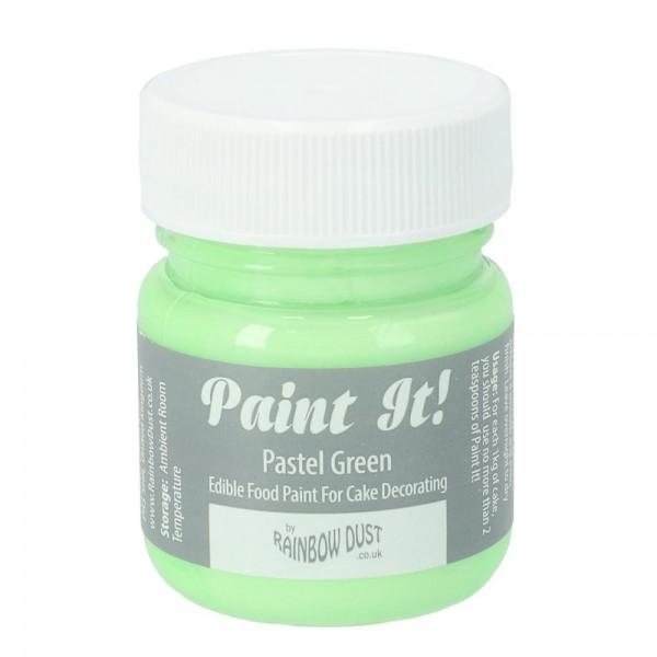 Rainbow Dust Paint-It Lebensmittelfarbe Pastel Green