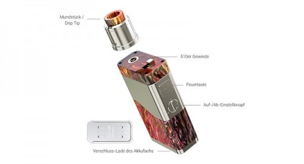 Wismec Luxotic NC 250W + Guillotine V2 2 ml Tank Kit