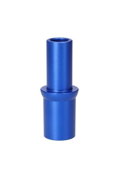Aladin Schlauchanschluss Alux Model 3 Alu Blau