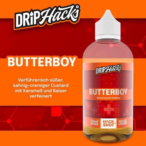 DRIP HACKS Butterboy Aroma 50ml