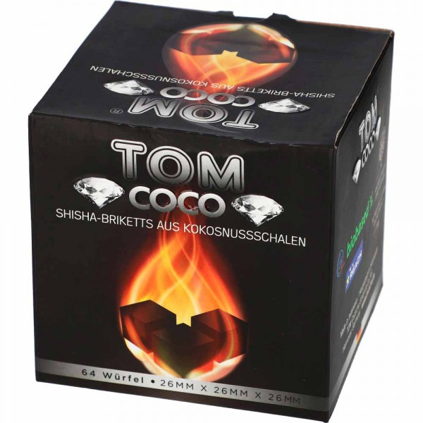TOM Cococha Diamond Kokoskohle 1kg