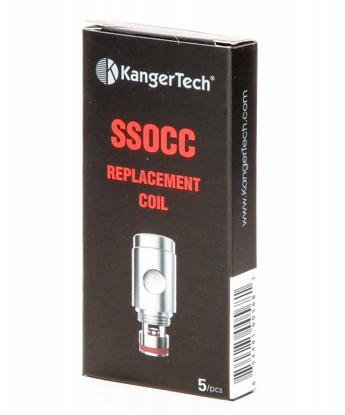 Kangertech Ersatzverdampfer SSOCC Subohm Coil - 0.2ohm
