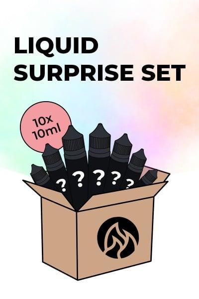 Liquid Surprise Set 10 x 10ml Greif zu!