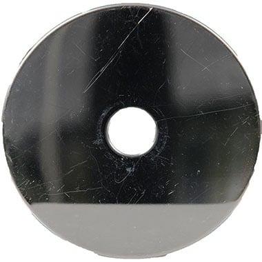 Unterlagscheibe Teller 9cm Chrom